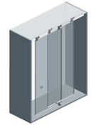 Ducloset Double - Top Sliding Door System