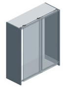 CD 50 TOP - External Door Top Sliding System