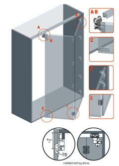 New York Metal Store - PL 2550 - Folding Door System